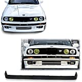 BMW E30 3-Series M-Tech V2 Style Urethane Front Bumper Lip Chin Spoiler For 84-92 Models ONLY.