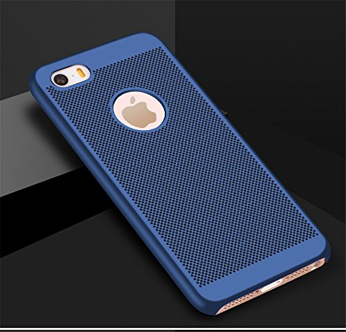 Bleu Dsign iPhone Respirant Matte pour 5S 5 Coque Case Surface Ultra SE Lisse Case Premium Mince iPhone Vanki Mesh iPhone Lgre Rqf6wY