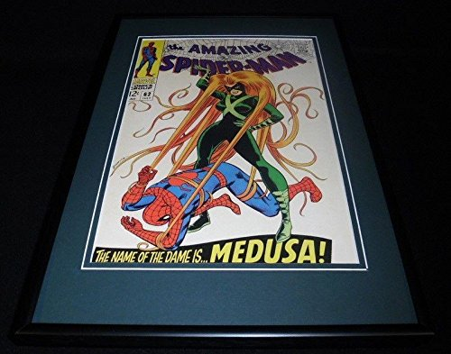 Amazing Spiderman #62 Framed 12x18 Cover Poster Display Official RP Me