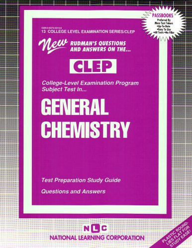 CHEMISTRY (College Level Examination Series) (Passbooks) (COLLEGE LEVEL EXAMINATION SERIES (CLEP))