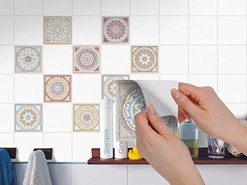 creatisto Mosaikfliesen - Aufkleber für Badezimmerfliesen und ...