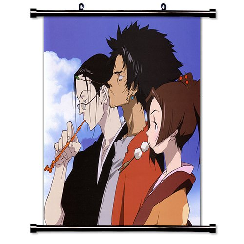 Samurai Champloo Anime Fabric Wall Scroll Poster  Inches. -S