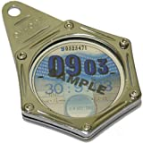 Oxford Chrome Tax-Haven Motorcycle Motor Bike Tax Disc Holder