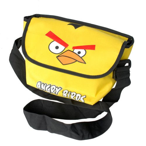 [Angry Birds - Yellow] Multi-Purposes Messenger Bag / Shoulder Bag by Blancho Bedding