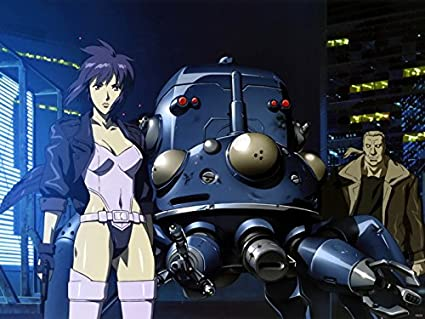 Amazon Com Dv6434 Ghost In The Shell Batou Tachikoma Motoko Kusanagi Anime Manga Art 32x24 Print Poster Posters Prints