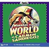 Where In The World Is Carmen Sandiego? (Jewel Case) - PC/Mac
