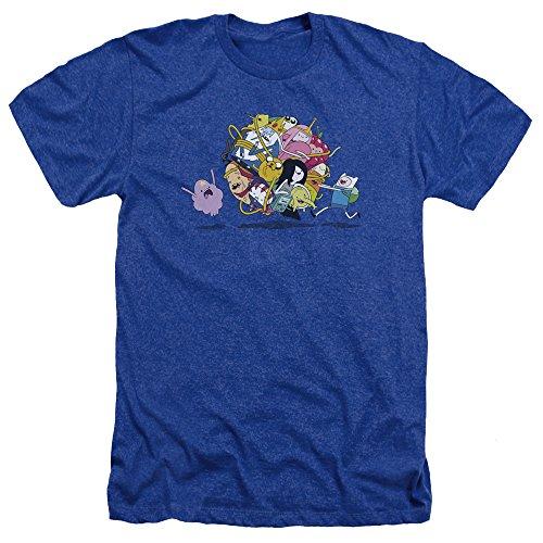 Time Ball Adventure hombre Glob Blue para azul Royal Camiseta en Fqxd7wtxa