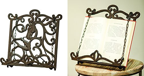 MW Cast Iron Horse Book Stand (Cast Iron Horse Bookend)