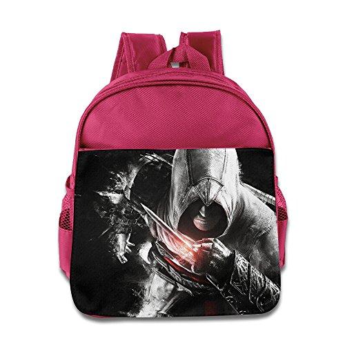 [KIDDOS Infant Toddler Kids Assassin's Creed Backpack School Bag, Pink] (Fireman Sam Costume 2-3)