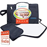 Larzzo Diaper Changing Pad, Portable Changing Station...
