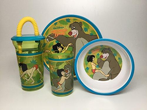 Jungle Book Plate Set-Melamine by Jungle Book