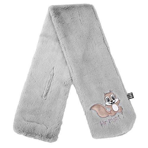 Vbiger Warm Children Plush Scarf Thick Kids Winter Plush Shawl Soft Kids Muffler Wraps (Grey)
