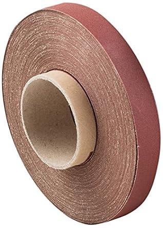 "Aluminum Oxide Abrasive Shop Roll 2/"" x 50 yds 40 Grit New"