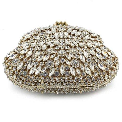 Luxe De De Soirée gold Sac Femme Pour Pour Sac Diamant De Tardif Femme Sac Soirée xqvPYUwF