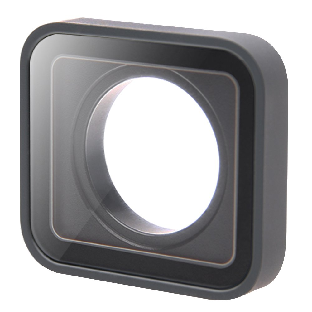 Protective Lens Replacement Camera Lens Glass Cover Case for GoPro Hero 5/6 Session, Black by GOHIGH