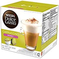 Dolce Gusto 48 Count Nescafe Skinny Cappuccino Coffee Capsules
