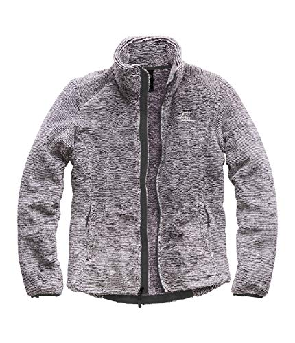(The North Face Women's Osito 2 Jacket, Weathered Black/Tin Grey Stripe, Size XXL)
