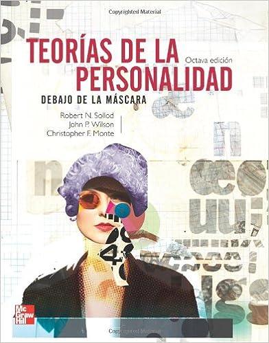 Book Teorías de la Personalidad: Debajo de la Máscara (Spanish Edition)