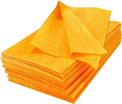Pack of 40 Dust Clothes for Furniture, Printers, Electronics, No Spray Needed Chicopee 0413 Stretch 'n Dust, Medium Duty 17