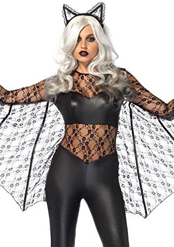 Black Woman Magic Costume (Womens Sexy Black Magic Bat Costume size Small)