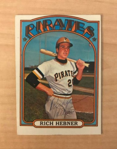 1972 Topps # 630 Rich Hebner Pittsburgh Pirates (Baseball Card) Dean's Cards 2 - GOOD Pirates