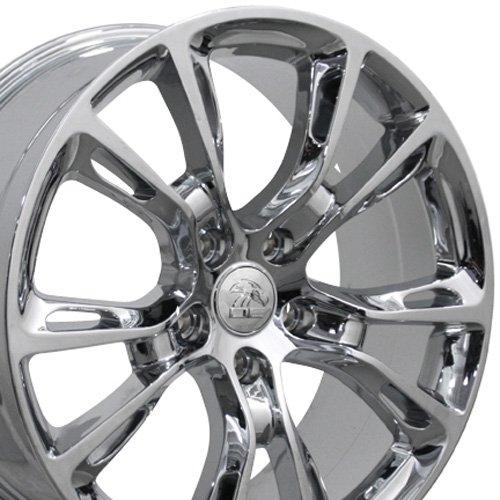 OE Wheels LLC 20 inch Rim Fits Jeep SRT8 Spider Monkey Wheel JP16 20x8.5 Chrome Wheel Hollander 9113