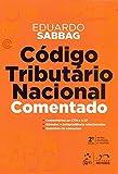 capa de Código Tributário Nacional Comentado