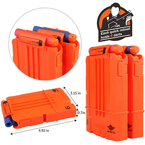 UWANTME Tactical Vest Kit 2 Pack for Nerf Guns N-Strike Elite Series by UWANTME (Image #3)