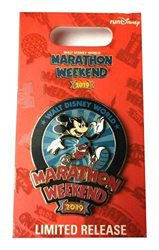 Disney Marathon Weekend Pin - 2019 Marathon Mickey Mouse Walt Disney -