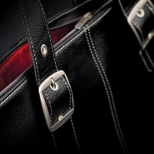 Solo Plaza 15.6 Inch Laptop Tote, Black by SOLO (Image #2)'