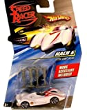 MACH 6 WITH JUMP JACKS Hot Wheels SPEED RACER 1:64 Scale Movie Vehicle