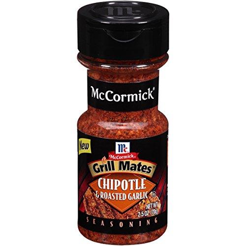 McCormick Grill Mates Chipotle & Roasted Garlic Seasoning, 2.5 OZ (Pack - 18) by McCormick (Image #1)