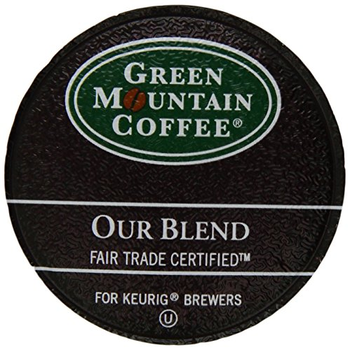 Green Mountain Coffee Our Blend, Light Roast,  K-Cup Portion Pack for Keurig Brewers 24-Count