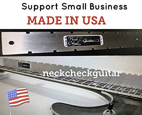 Guitar Neck Straight Edge