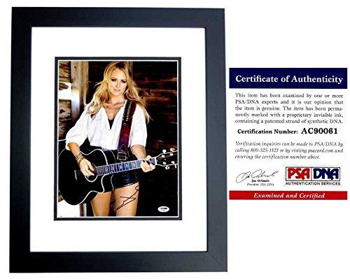 - Jewel Autographed Signed Singer Songwriter 11x14 Concert Photo BLACK Custom Frame
