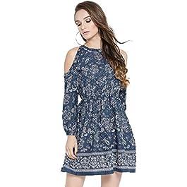 Buy SERA Cotton a-line Dress India 2021