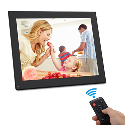 - BSIMB 10 Inch Digital Photo Frame-Digital Picture Frame with 1024x768(4:3) Resolution IPS Display, Music Video Schedule Alarm Supported,with USB/SD Card and Remote Control(M01 Black)