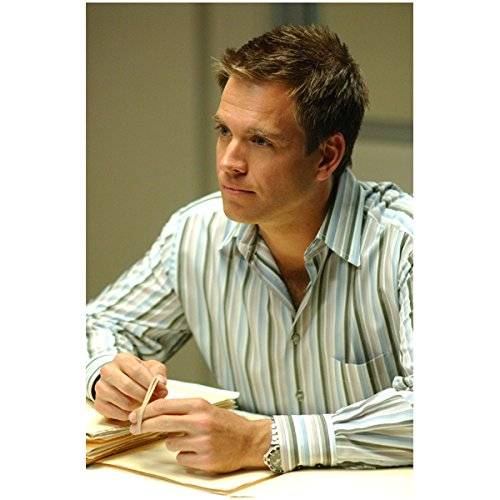 - NCIS Michael Weatherly as Anthony DiNozzo Seated with Files 8 x 10 Photo
