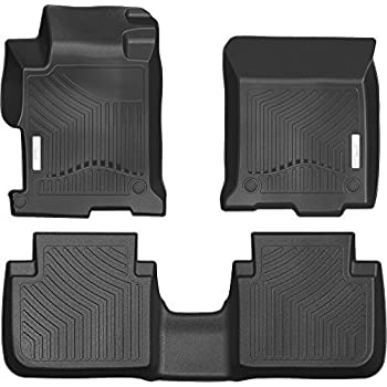 Amazon Com 3d Maxpider Complete Set Custom Fit All Weather Floor Mat For Select Honda Accord