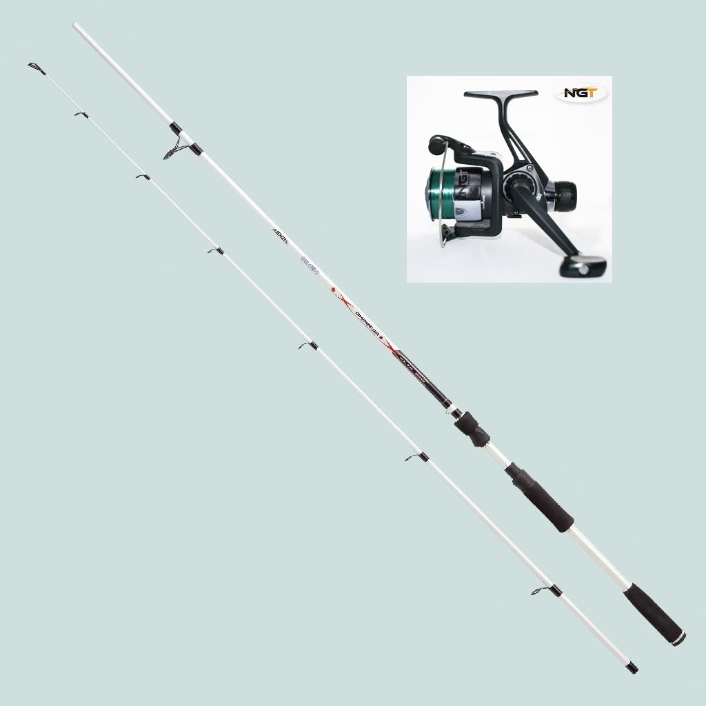Jenzi – Caña de pescar Okinawa Speed Spinning (26 – 60 g) 2.40 m ...