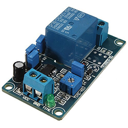 TOOGOO(R) 12V Power-ON Delay Relay Delay Switch Circuit Module Better than NE555 - Delay Circuit