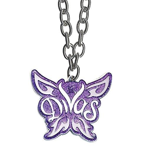 WWE Divas Logo Purple Pendant - Diva Necklace Pendant