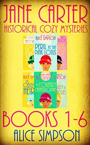 20s Collection Roaring (Jane Carter Historical Cozies: Omnibus Edition (Six Mystery Novels))