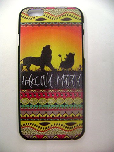 MOC Exclusive Designer Hakuna Matata Abstract Print Case Matte Finish For iPhone 6 - Exclusive Moc