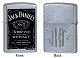 jack daniels accessories - Personalized Zippo Jack Daniel's Old No. 7 Label Lighter with Free Monogram