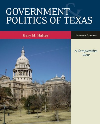 Government and Politics of Texas by McGraw-Hill Humanities/Social Sciences/Languages