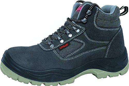 UTILIA Zapatos de seguridad Alto Puntera de acero TG 44fa2334544dorado