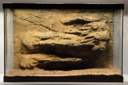 Universal Rocks 48-Inch by 20-Inch Ledge Flexible Aquarium Background