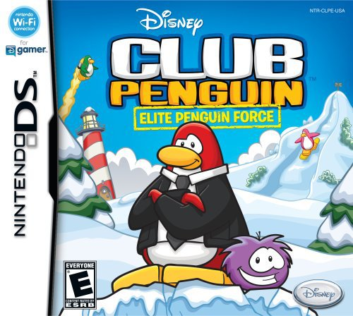 Disney Club Penguin Card - Club Penguin: Elite Penguin Force - Nintendo DS