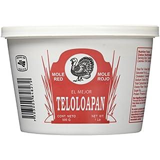Teloloapan Mole Rojo - El Mejor, Red, 1 lb Tub
